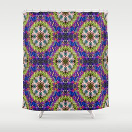 Psychedelic moments in Summer.... Shower Curtain