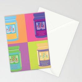 Mod Podge Stationery Cards
