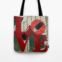 Love Sign Philadelphia Tote Bag