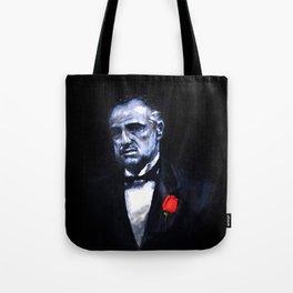 Don Vito Corleone The Godfather Tote Bag