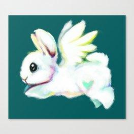 Rainbow Chip Canvas Print