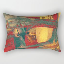 Boi de Piranha Rectangular Pillow
