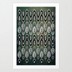 Pierrot II/Memoir Pattern Art Print
