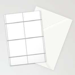 Plaid Stationery Cards