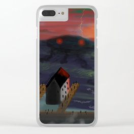 Whispers On The Waves Clear iPhone Case