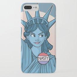 Nasty Lady Liberty iPhone Case