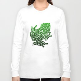 100 Poison Frogs - Green Long Sleeve T-shirt