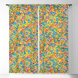 Mini Baby Pacifier Pastel Candy Pattern Blackout Curtain