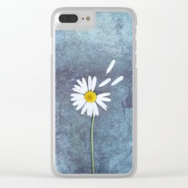 Daisy II Clear iPhone Case