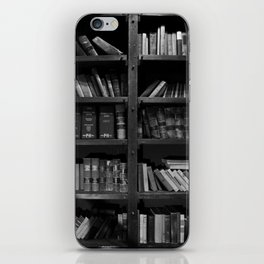 Antique Library Shelves - Books, Books and More Books iPhone Skin