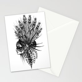 INDIANS - 4 Stationery Cards