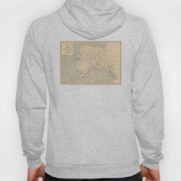 Vintage Map of Alaska (1909) Hoody