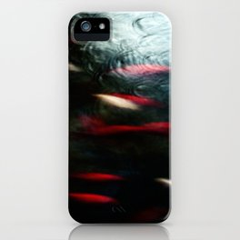 Abstract goldfish_03 iPhone Case