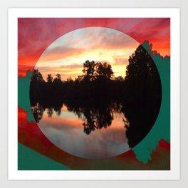 Artisan's view cleared Art Print