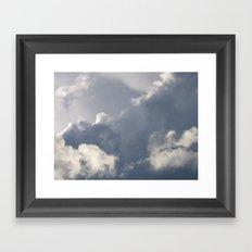 Storm Clouds Framed Art Print