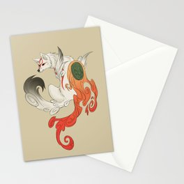 Okami Amaterasu Stationery Cards