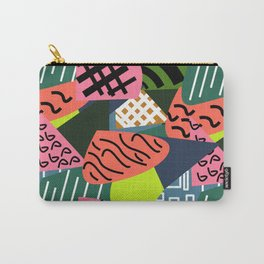 Abstract quilt Carry-All Pouch