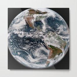 Earth 4 Metal Print