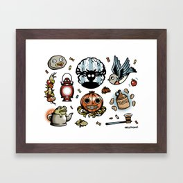 Into The Unknown Flash Sheet Framed Art Print