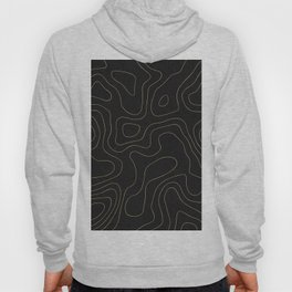 Topographic Imaginary Landscape Hoody