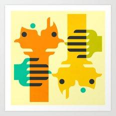 CLOSER2ME Art Print