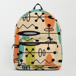 Mid Century Modern Radioactive Surfer 271 Backpack