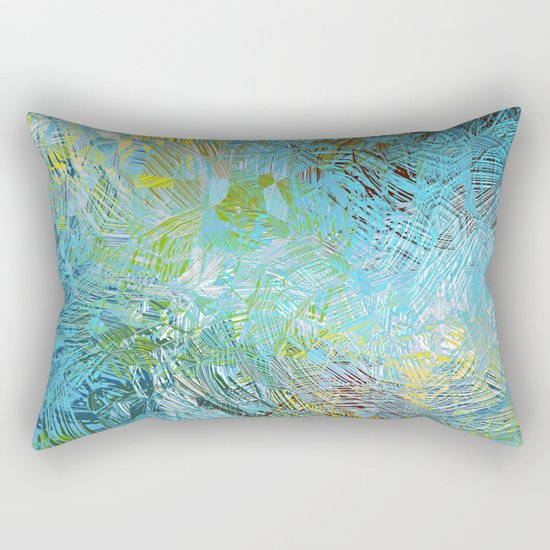 Frosted Illusions Rectangular Pillow