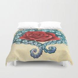 Octo Rose Love Duvet Cover