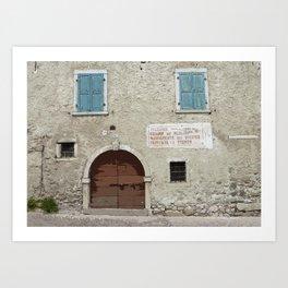 Bono Doorway Art Print