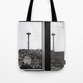 The Needle in its Natural Habitat Tote Bag