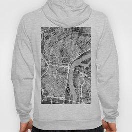 Philadelphia Pennsylvania Street Map Hoody