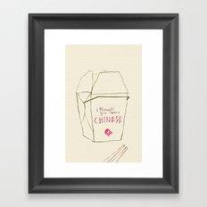 Lizzie Bennet #3 Framed Art Print