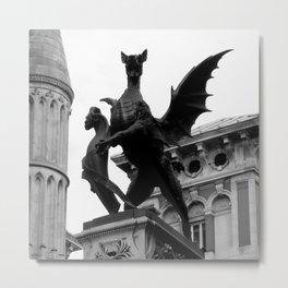 Beast of London Metal Print
