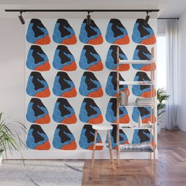 pattern with abstract figures Wall Mural