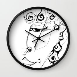 Inner Goddess Wall Clock