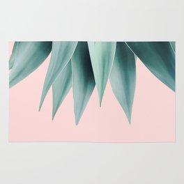 Agave fringe - blush Rug