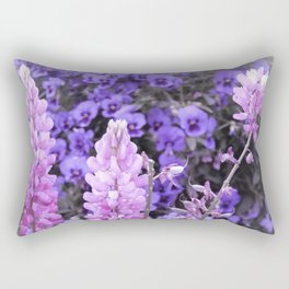 Lively Lupines Rectangular Pillow