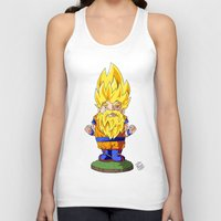 gnome Tank Tops featuring Gnome Sayan by Nate Galbraith