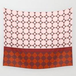 Diamond patterns Wall Tapestry