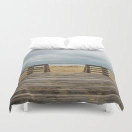 Draw me into the Sea Duvet Cover