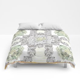 Floral scarf Comforters