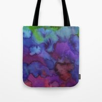 watercolour Tote Bags featuring Watercolour by Amber Nuttall