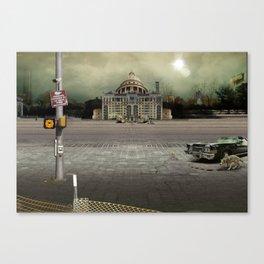 Emergency Exit Canvas Print