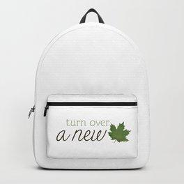 Turn Over A New Leaf Backpack