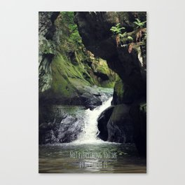 Not Everything you see is All there is Canvas Print