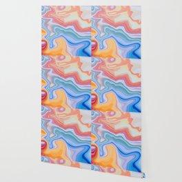 Liquid Rainbow Agate Gem Wallpaper