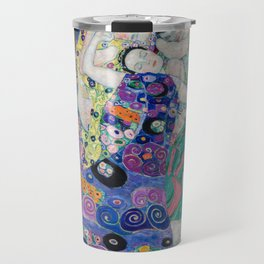 Gustav Klimt / The virgin Travel Mug