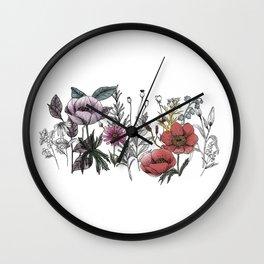 Healing Forest Wall Clock