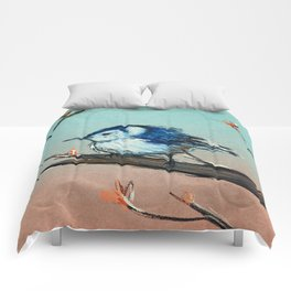 White breasted Nuthatch Comforters