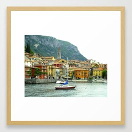 Lake Como 0607 Framed Art Print